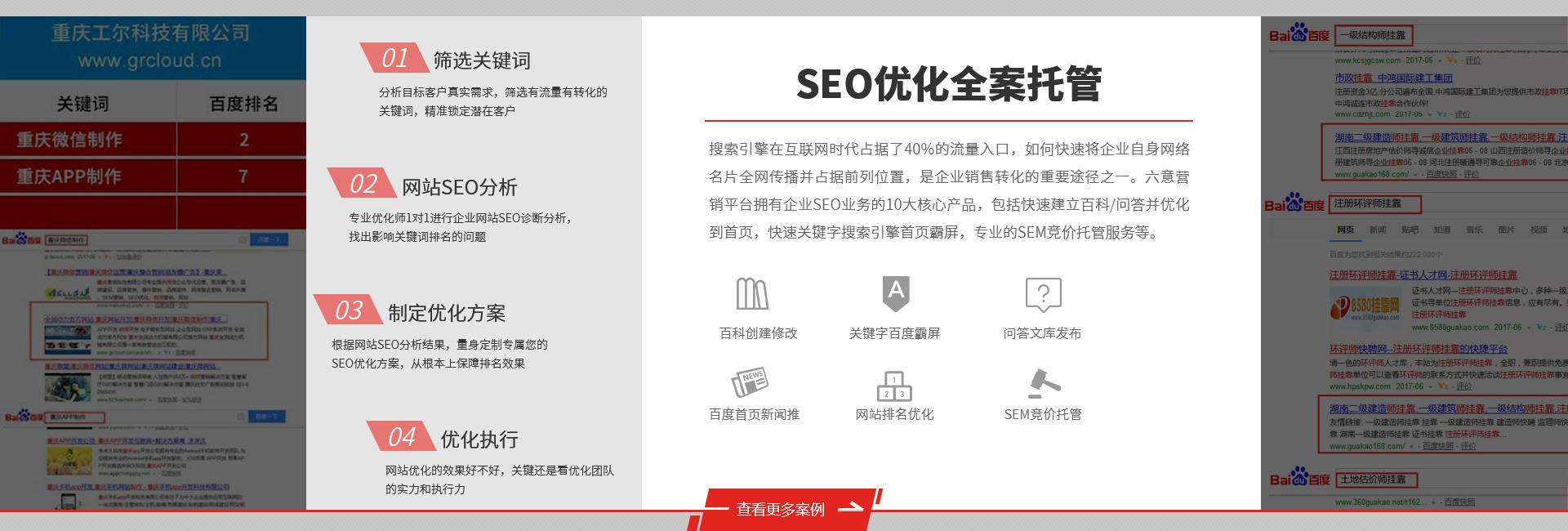 六意科技是专门做佛山SEO优化外包的网络公司